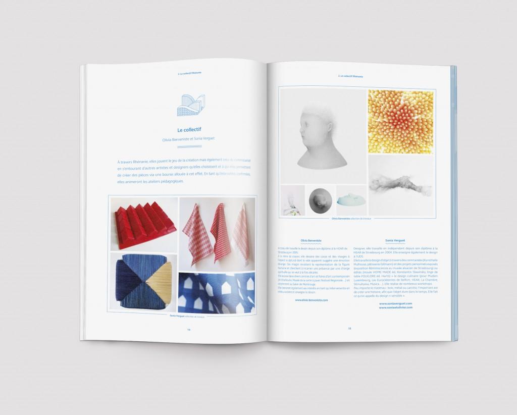 Rhenanie dossier de demande de subvention design by Tomoe Sugiura, 2014