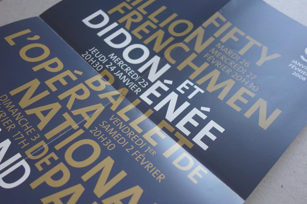 Grand théâtre de provence, programme trimestriel