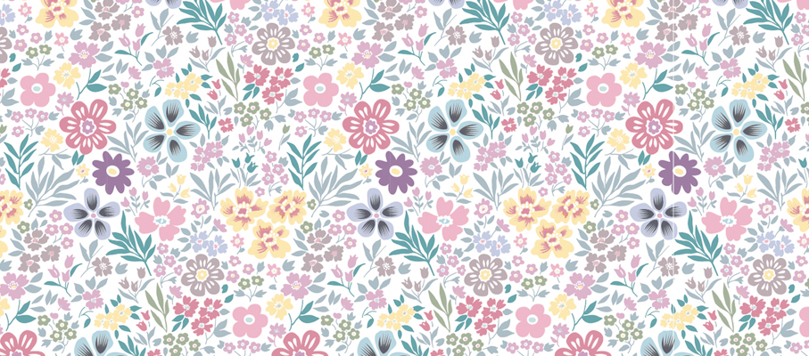 Liberty pattern, design by Tomoe Sugiura for Atelier Rosemood, 2013