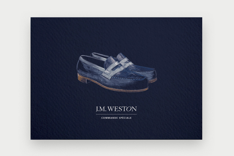 carton invitation commande speciale J.M.Weston