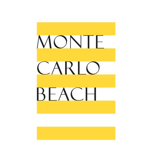 montecarloBEACH Logotype design